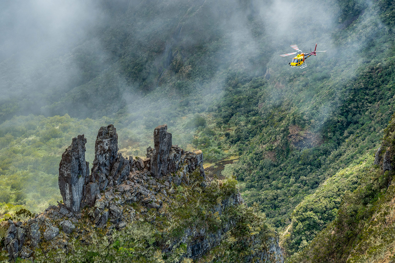 Circuit Survol de l'essentiel de l'île en hélico avec Mafate hélicoptère réunion
